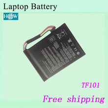 Hot sale C21-EP101 Battery For ASUS Eee Pad Transformer TF101 TR101 battery 7.4V 3300mah Free shipping(China)