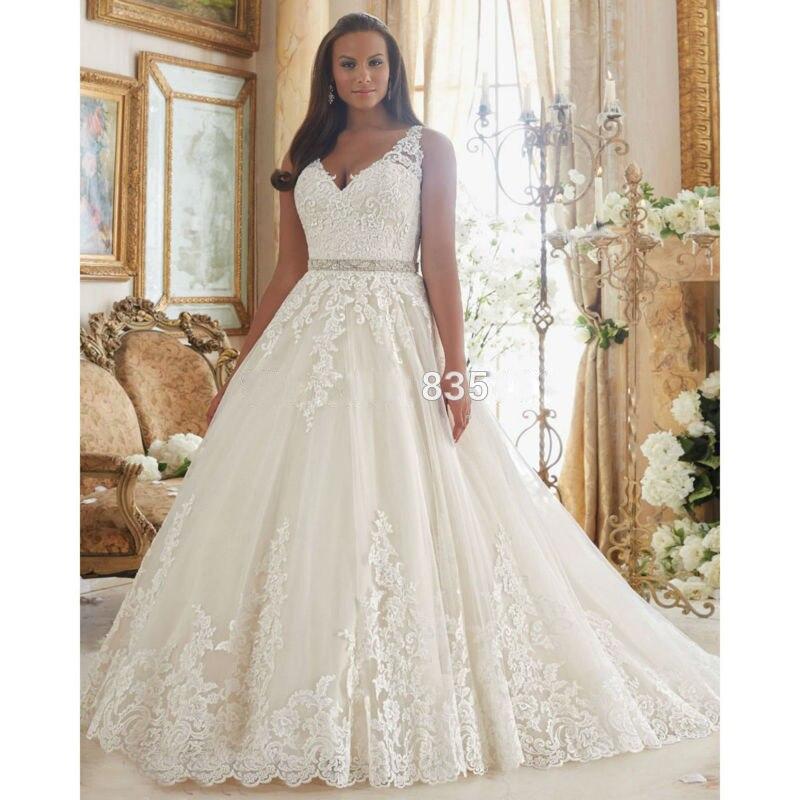 Vintage plus size wedding dresses 2017 aline wedding gowns for Retro wedding dresses plus size