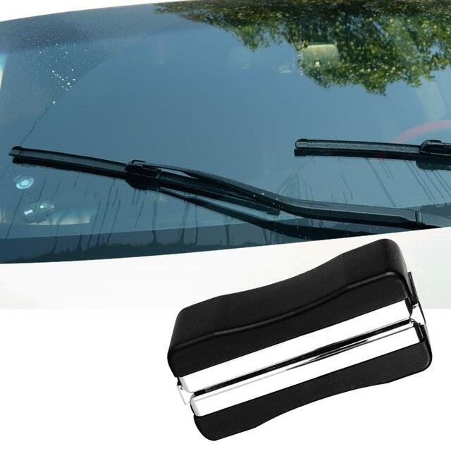 Auto carro veículo windshield wiper blade refurbish kit de reparação universal restorer windshield scratch repair tool cleaner