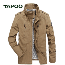 TAPOO 2017 New Brand Clothing Mens Business Casual Coats High Quality Male Spring Autumn Jackets Outdoors coat 828