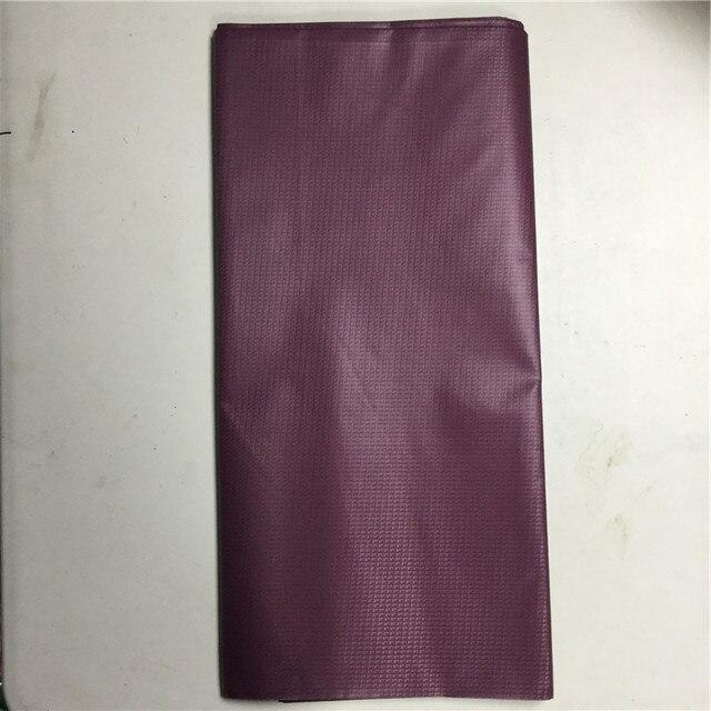 Nigeria tessuto uomini Borgogna atiku tessuto per gli uomini Marrone Atiku materiale broccato per il partito 100% del merletto del cotone in 10 metri
