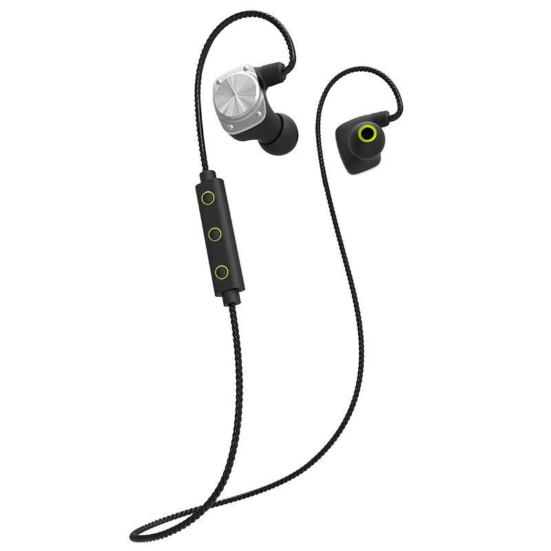 Portable U6 Wireless Bluetooth 4.1 Headset Waterproof Sport Headphone Noise Cancelling Running Earbud Earphone for Android IOS new style portable wireless bluetooth foldable headphone noise cancelling headset