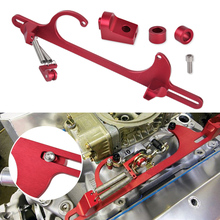 Dwcx для chey Ford и Mopar 265 283 305 307 двигателей 4150 4160 красный Алюминий сплав дроссельной заслонки carb Карбюраторы для мотоциклов кронштейн автомобиль внедорожник