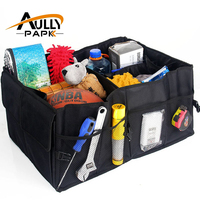 Super Big Car Boot Stuff Food Storage Bags Trunk Organiser Automobile Stowing Tidying Interior Accessories Folding
