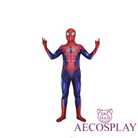 Halloween All New All Different Marvel Spider Man costume 3D Printed All New Zentai Spiderman Cosplay Bodysuit Lycra Spidey Suit