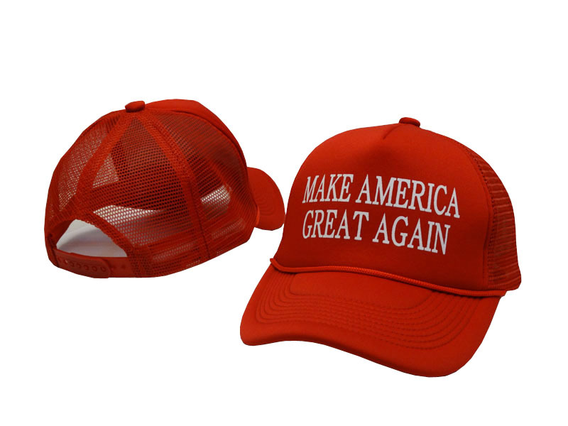 9f445c3e1ee 2016 Fashion casual style Make America Great again Donald Trump Baseball  Cap Unisex Golf Political Patriot Trucker Polos Hat-in Baseball Caps from  Apparel ...