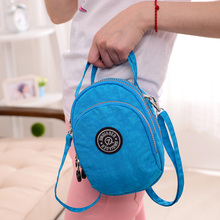 Female Messenger Bag Women's Nylon Bag Shoulder Tote Handbag Ladies Bolsa Feminina Small Light Waterproof Travel Crossbody Bag