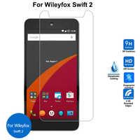 Para Wileyfox Swift 2 Protector de pantalla de vidrio templado 2,5 9h película protectora de seguridad en Swift2 Plus pelicula de vidro 5,0 pulgadas