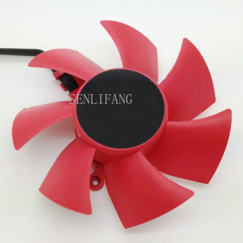 Free Shipping XFX HD 5850 5870 NTK FD8025U12S 0.48A Four-wire Graphics Card Fan