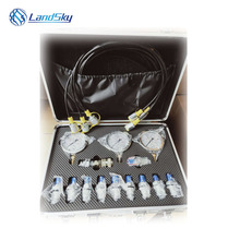 Auto parts Hydraulic Pressure Test Kit Testing Hose Coupling Gauge Tools Accessory charging tool pressure test gauges