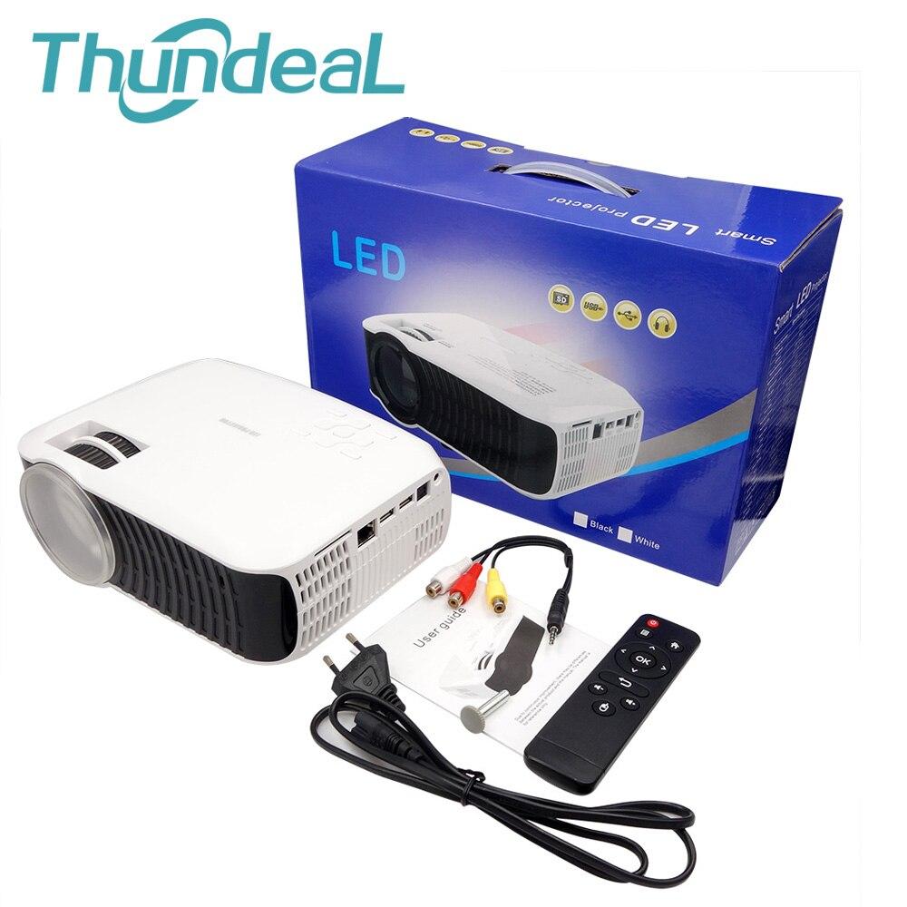 thundeal t22l проектор светодиодный мини 2000 люмен 800*480 высокой четкости проекции для ноутбука портативный proyector жк-дисплей цифровой т30