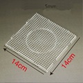 Hot Sale 14cm Bead Pegboard Square/ Circle Shape Choose Puzzle Template for 5 mm Puzzle Beads Creative Educational Toys
