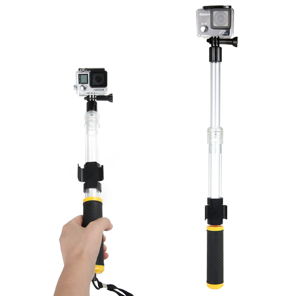JUST NOW for GoPro Floating Extension Pole 14-24 Inch Floaty Monopod With WIFI Remote Clip Gopole For Gopro Hero 4 3+/3 SJ4000