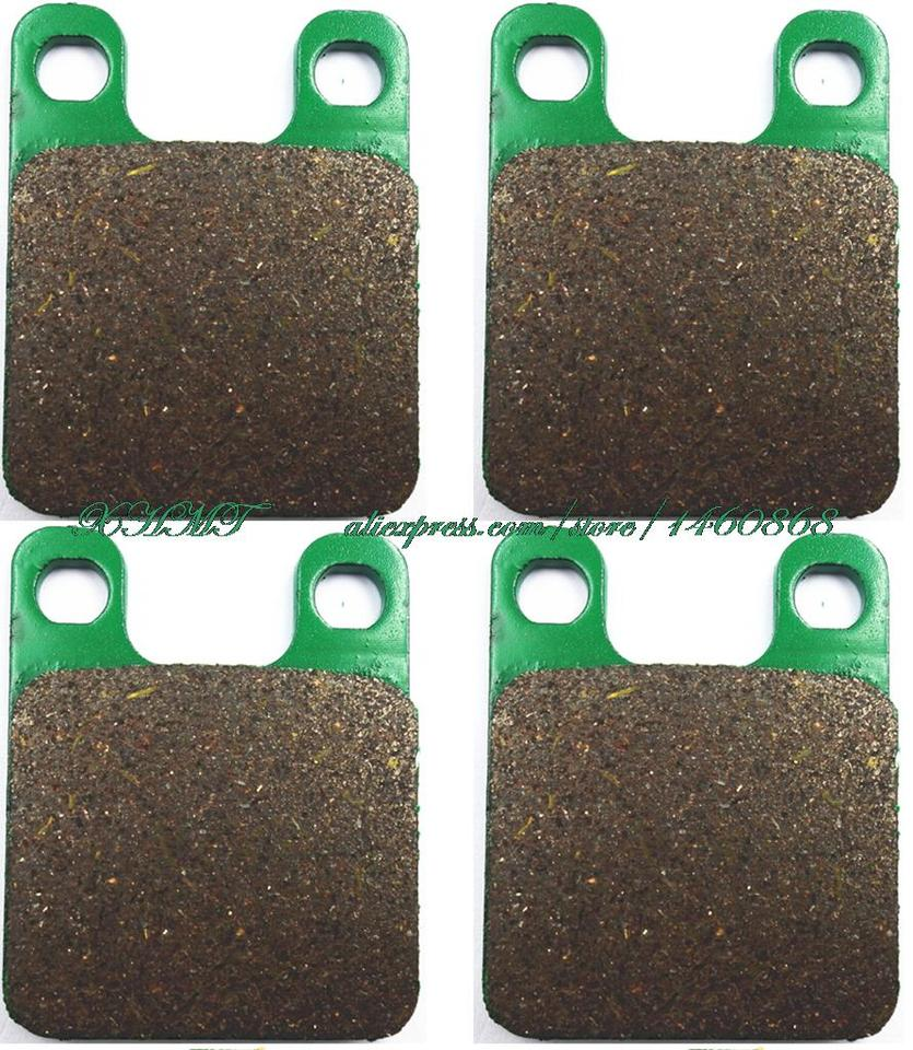fit ITALJET  Dragster 50 LC 98/>12 EBC FRONT CARBON BRAKE PADS