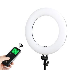 Image 2 - Viltrox Lámpara de VL 600T bi vídeo en color, de 18 pulgadas de luz LED Anillo, mando a distancia inalámbrico + soporte de luz para sesión de fotos, estudio de YouTube en vivo