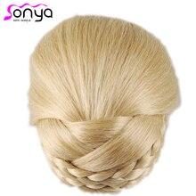 hot deal buy new style bun hair sticks novelty hair decor synthetic hair women hair chignons ha027