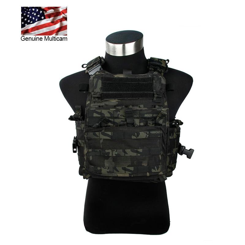 2019 AERO Tactical Vest 500D Multicam Black MOLLE MCBK Imported Fabric Military Vest