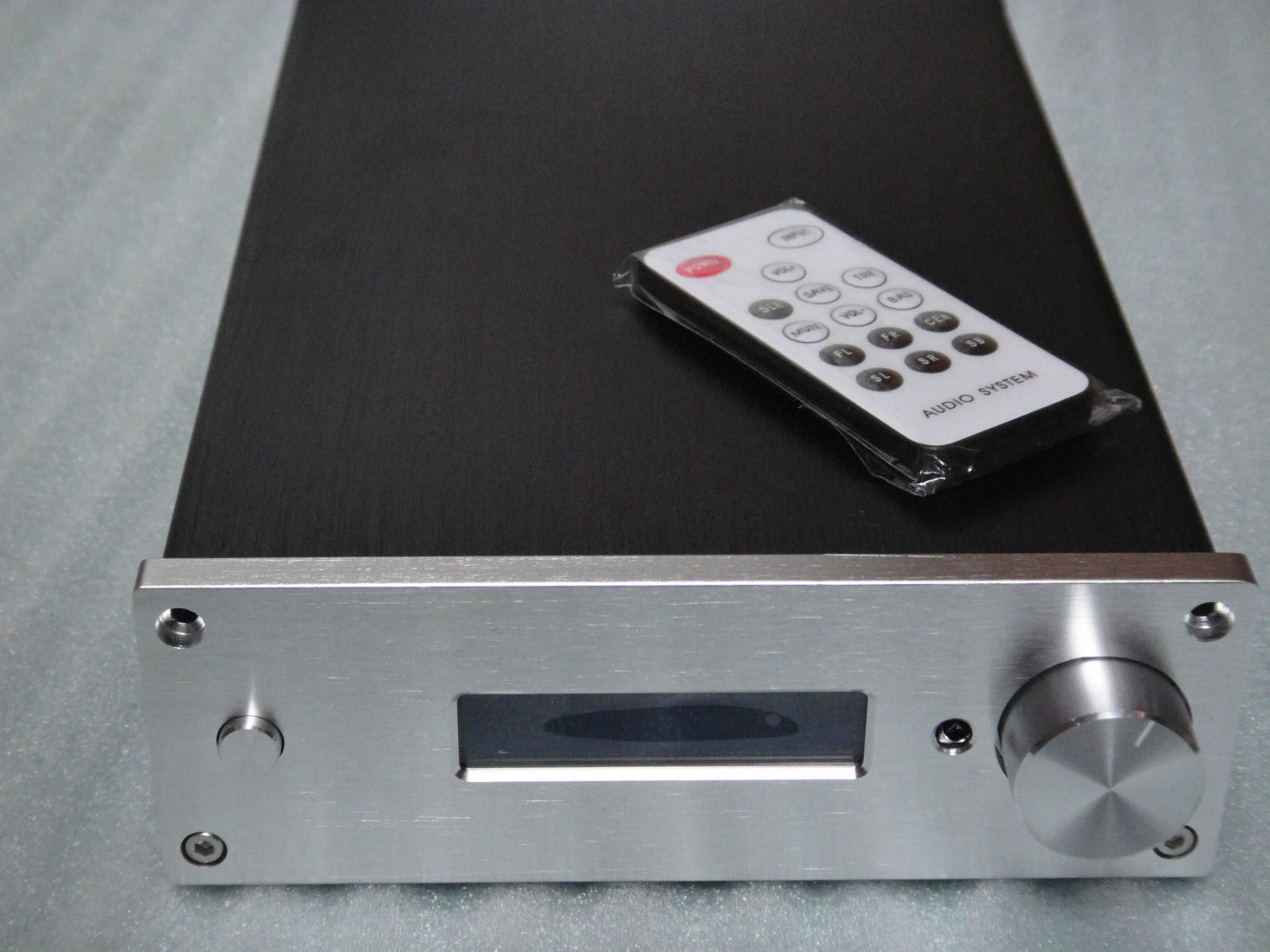 New Version PGA2310 Stero Remote Volume Controller Preamplifier Built In Case