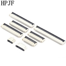 FPC Pitch 0.5mm Flip Connector SMT Type Ribbon Flat Bottom C
