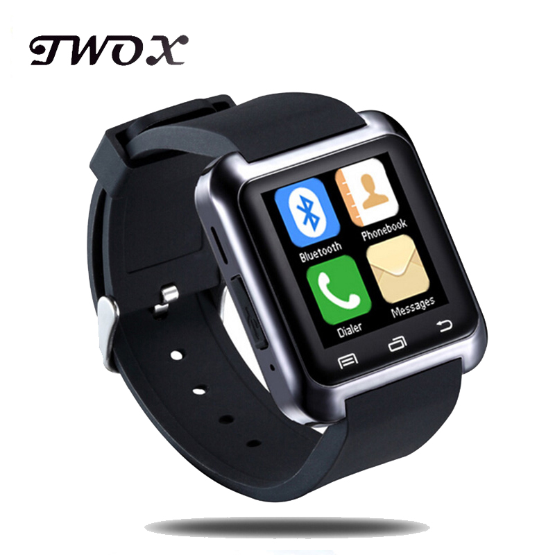 Original Bluetooth Smart Watch U80 Wristwatch Reloj Inteligente for Apple iPhone 55S 6 Plus Huawei LG Android Phone Sports Watch-in Smart Watches from Consumer Electronics on AliExpress