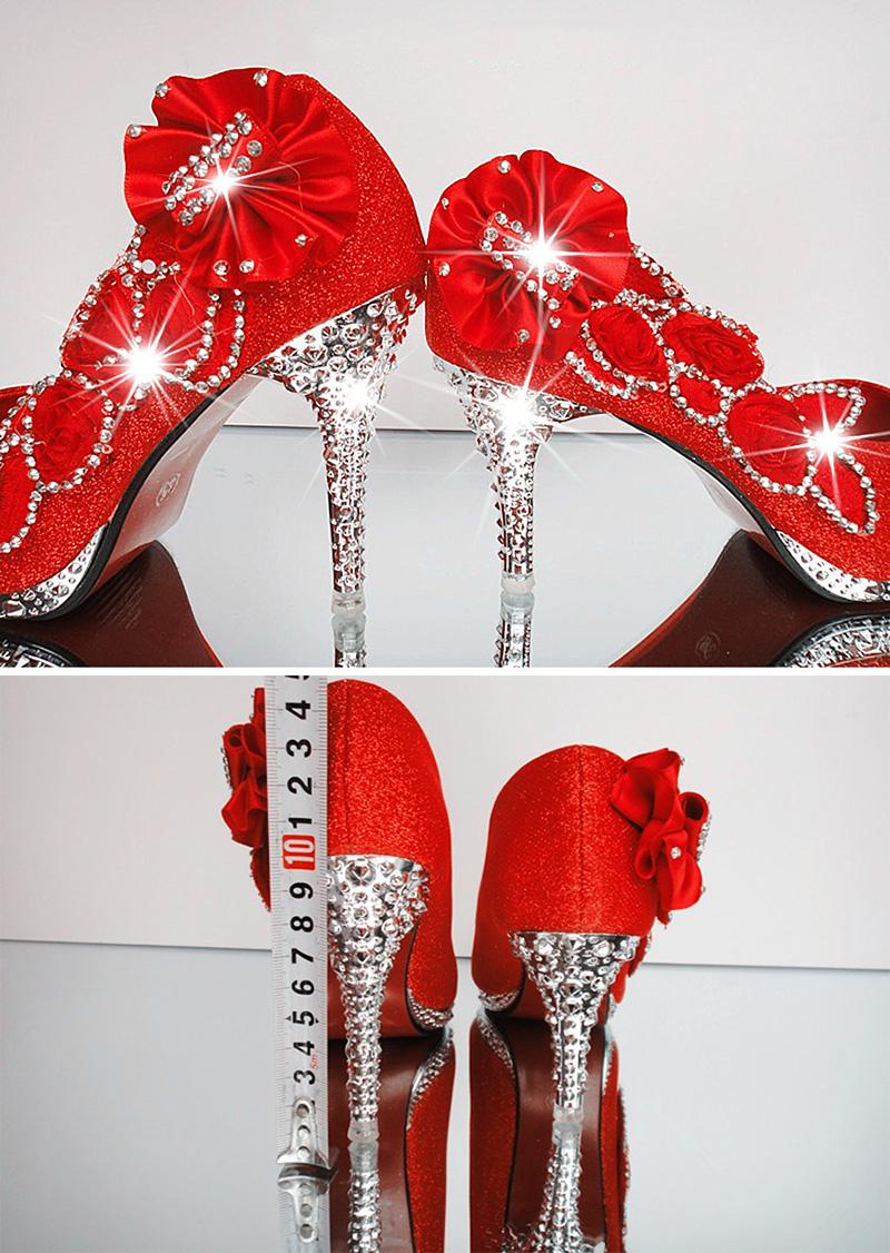 19 Colorful Wedding Shoes Women Pumps Sexy Ladies Super High Heels Fashion Party Women Shoes Thin Heel 8cm 10cm YX721 5