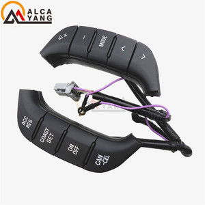 Malcayang Steering Wheel Audio Control Switch Button 84250-PJL For Mistubishi Toyota Pajero 2007-2019