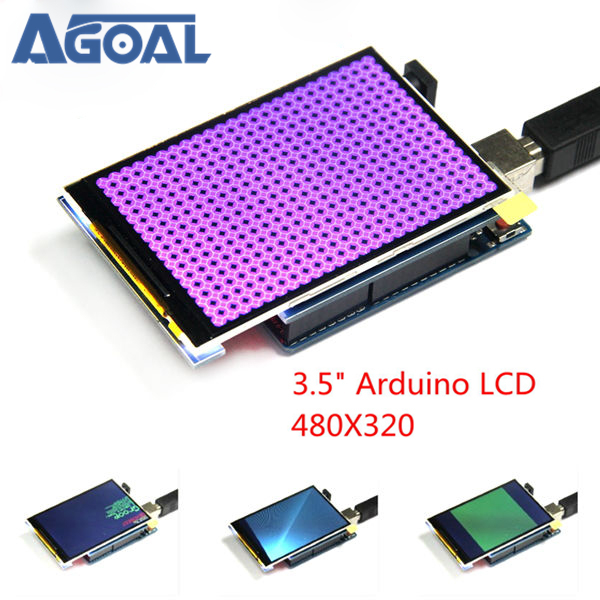 3.5 Inch TFT Color Screen Module <font><b>320</b></font> X <font><b>480</b></font> Support UNO Mega2560 image