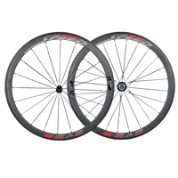 Jerry S Store Speedeve 38mm Carbon Road Bike Wheel 23mm Width 100 Carbon Fiber Bicycle Wheelset