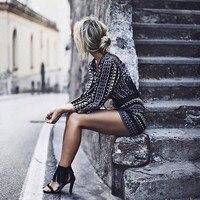 2016 New Fashion Womens Half Sleeve V Neck Halter Sexy Openwork Crochet Lace Stitching Jumpsuit