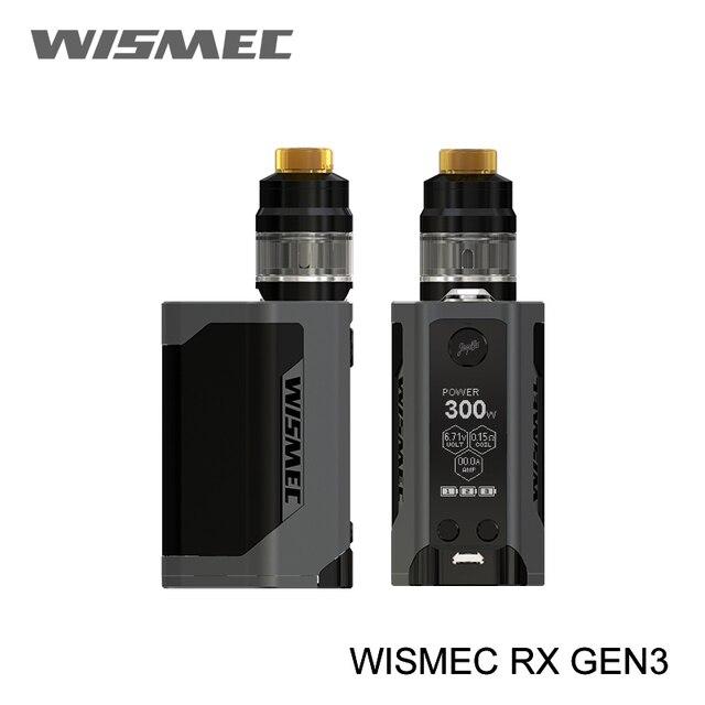 Просвет 100% WISMEC Рел RX GEN3 MOD не гном Tank 2 мл гном бак RX GEN3 TC RXGEN3 Mod обновление rx2/3 predator 228 дешевые