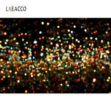 Laeacco Abstract Light Bokeh Glitters Baby Child Photo Backgrounds Customized Photography Backdrops Props For Studio