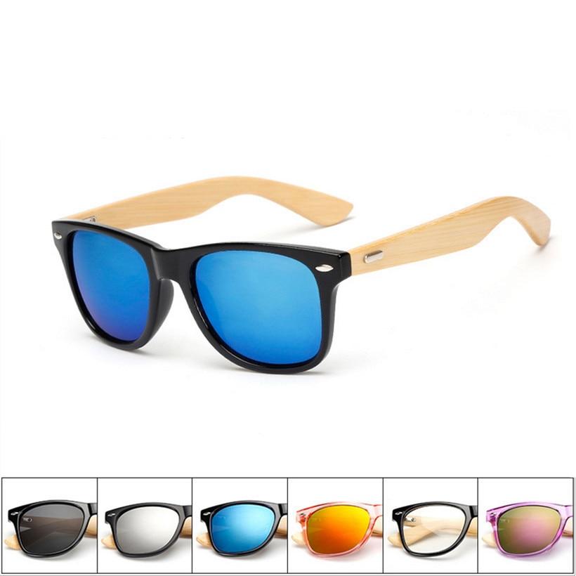 XaYbZc Bamboo Sunglasses for Men Women Travel Goggles Sun Glasses Vintage Wooden Leg Eyeglasses Fashion Brand Design