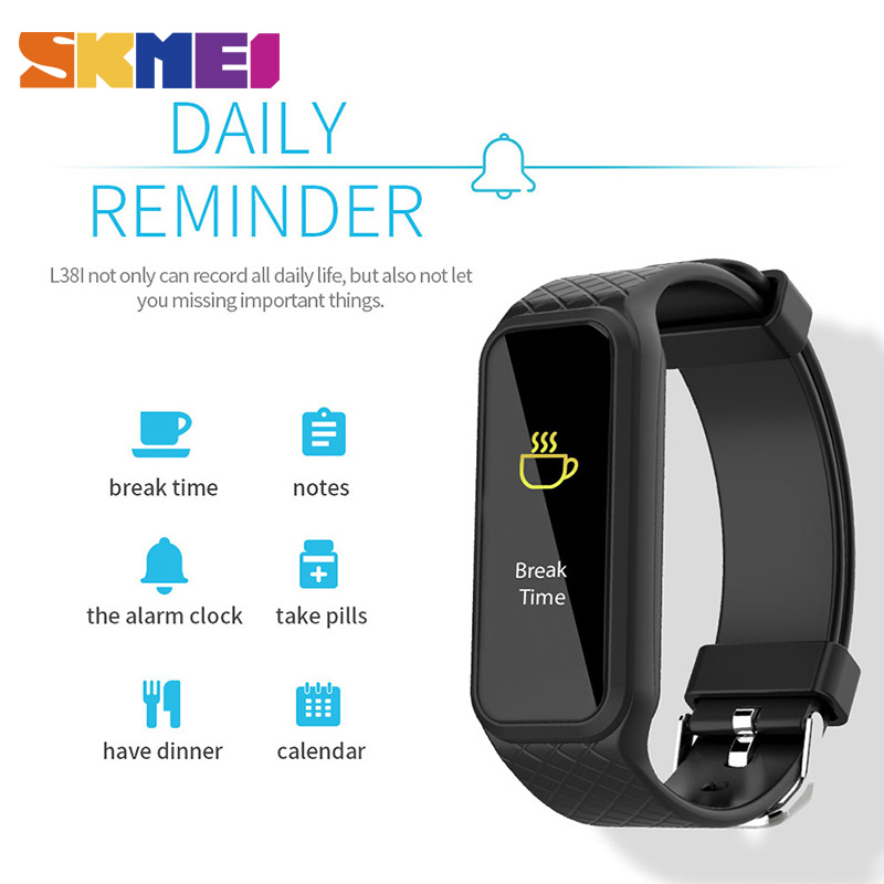 где купить SKMEI Smart Watch Men Pedometer Calorie Sport Watch Famous Brand Women Sleep Tracker Heart Rate Monitor Digital Smart Wristwatch по лучшей цене