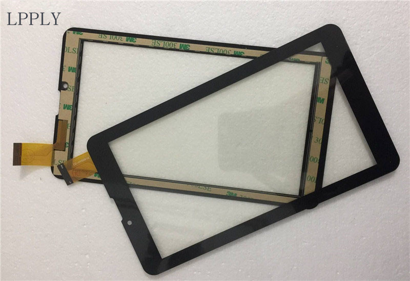 LPPLY Black New 7'' For Digma Plane 7547S 3G PS7159PG Touch Screen Digitizer Sensor Replacement Parts new touch screen panel digitizer glass sensor replacement for 7 digma plane 7 12 3g ps7012pg tablet free shipping