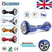 IScooter Hoverboard 6,5 дюймов Bluetooth Динамик скутер скейтборд Самостоятельная Баланс Электрический ХОВЕРБОРДА взрослый ребенок UL 2272 ХОВЕРБОРДА