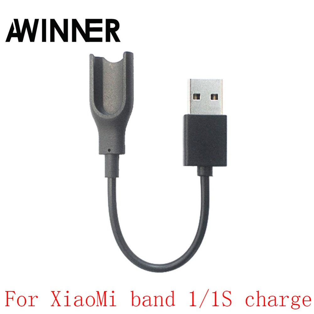AWINNER Replacement Xiaomi Mi band 1 Charging Cable USB Charger Cord for Xiaomi Mi band 1/1S (Mi Band 2 Not Compatible) цена