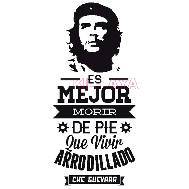 Wall Stickers Spanish Quotes Vinyl Wall Sticker Decal Che Guevara