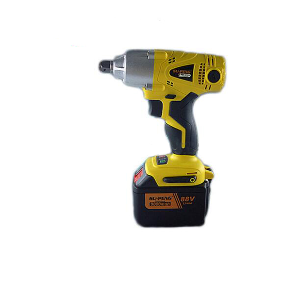 Electric Wrench 88V 9000mA Quickly Change the Brush Electric Impact Wrench Rechargeable Electric Wrench Tool