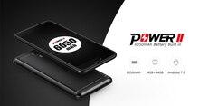 Ulefone питания 2 6050 мАч батареи ОС Android 7.0 смартфон MTK6750T 4 ГБ Оперативная память 64 ГБ Встроенная память Octa Core мобильный 5.5 дюйма разблокировать 4 г телефона