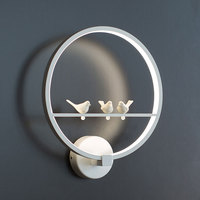 Nordic Creative Angel Led Wall Lamp Modern Staircase Aisle Led Lights Background Cafe Bedside Bedroom Living