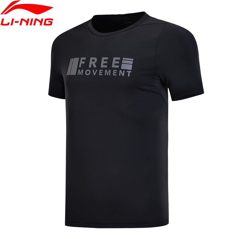 Li-Ning Men Training Series T-Shirt AT DRY FREEZE Breathable Anti-UV LiNing Li Ning Comfort Sports Tee T-shirt ATSN079 MTS2771