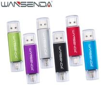 Высокая Скорость 2 в 1 флэш-накопитель USB OTG 64 ГБ 32 ГБ накопитель 16 ГБ 8 ГБ 4 ГБ флешки Micro USB ручки для Android мобильных телефонов и PC