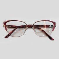 Cat Eye Style Glasses Myopia Glass Frame Women High Quality Acetate Alloy Eyeglasses Frame Oculos De Grau Feminino Glasses