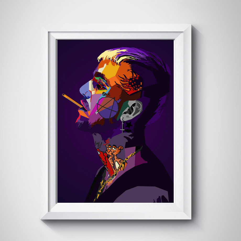 6f67fc966bb2 ... Lil Peep Tyler XXXTentacion Rapper Star Wall Art Canvas Painting Nordic  Posters And Prints Wall Pictures ...