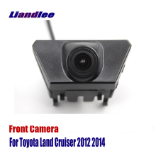 Liandlee AUTO CAM Car Front View Camera For Toyota Land Cruiser 2012 2014  Logo Embedded ( Not Reverse Rear Parking )
