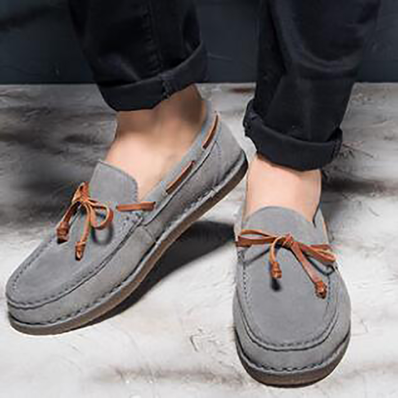 De Para Lght Black Volta Deslizamento Negócio Vela Sapatos Clássicos on Preto Homens light Casuais Novos Camurça sapatos Confortável Tan gray Mocassins Cinza 7q6AIA