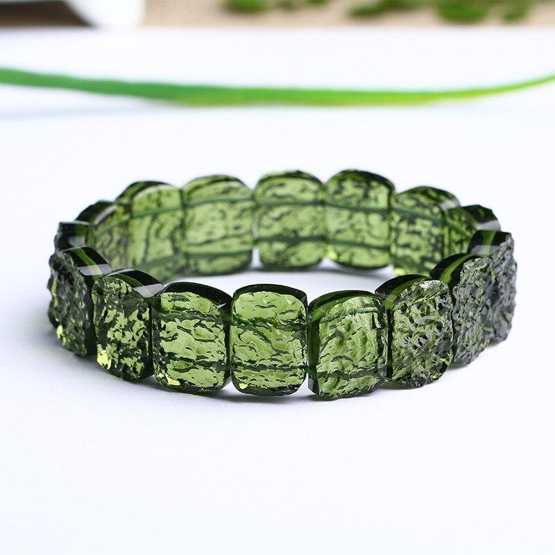 Натуральный молдавитовый зеленый Аэролит Чешский метеорит кристалл энергия Apotropaic для исцеления чакр с помощью рейки ювелирный камень Пода