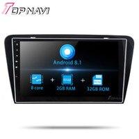 2 din Autoradio Auto Radio Tuner 10.1''Android 8.1 For Skoda Octavia 2014 2015 2016 Car GPS Navigation Multimedia player Stereo