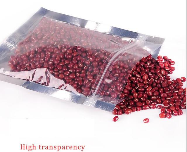 Zero Waste Ziplock Smell Proof Aluminium Foil Food Storage Bags