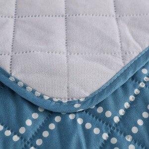 Image 4 - 1/2/3 Seat Katoen stofbeschermde Sofa Covers Voor Honden Huisdieren Kids Anti Slip Gewatteerde fauteuil Couch Kussenovertrekken Meubels Protector